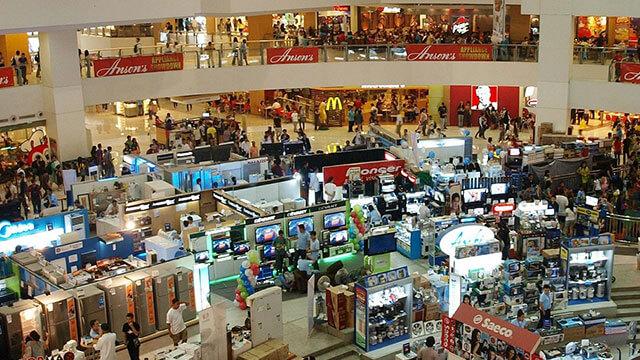 ショッピングモールのイメージ